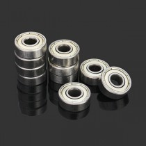 10 Cuscinetti a sfere 6x17x6mm 606zz Sealed Shielded Deep Groove Ball Bearing