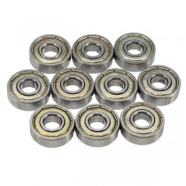 10 cuscinetti a sfere ABEC-7 608ZZ 8x22x7mm Ball Bearings Deep Groove